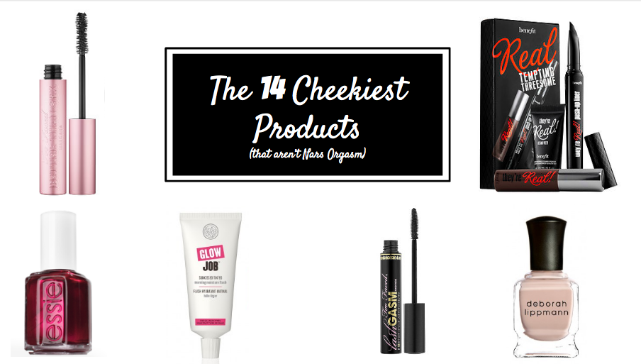 Stylisted - 14 Cheeky Beauty Product Names