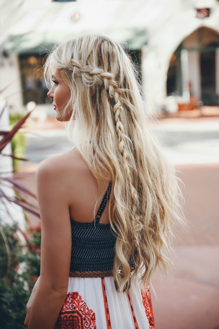 3 looks for salty summer hair stylisted for Barefoot blonde