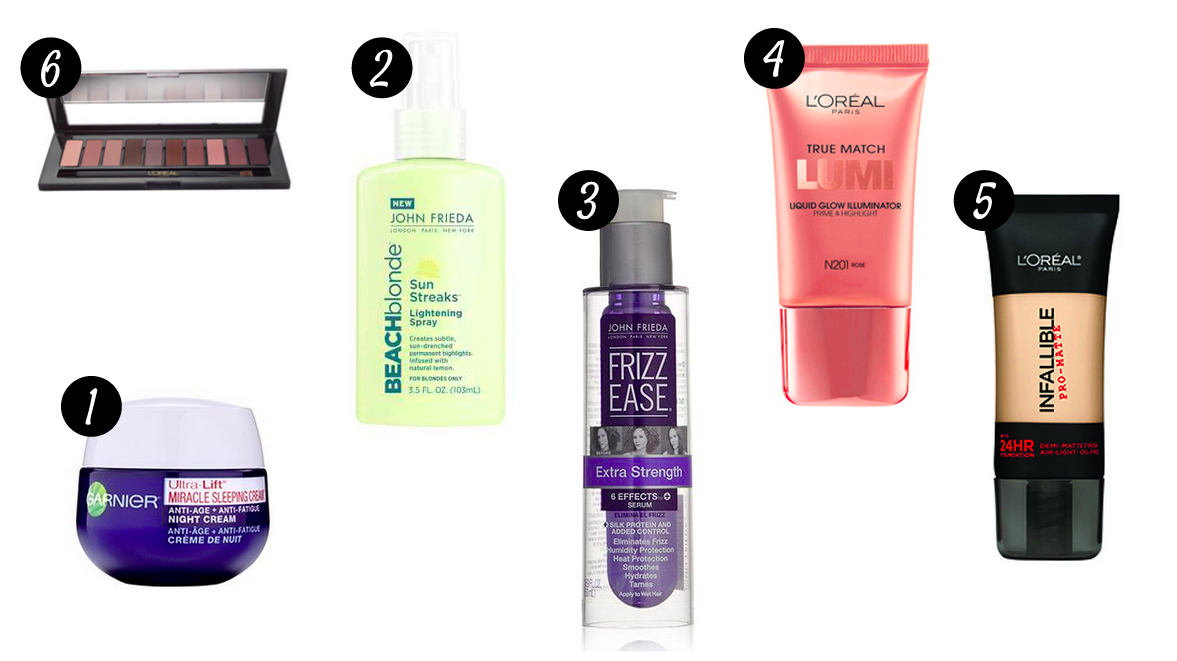 Stylisted - Monthly Drugstore Must-haves Products June 2015