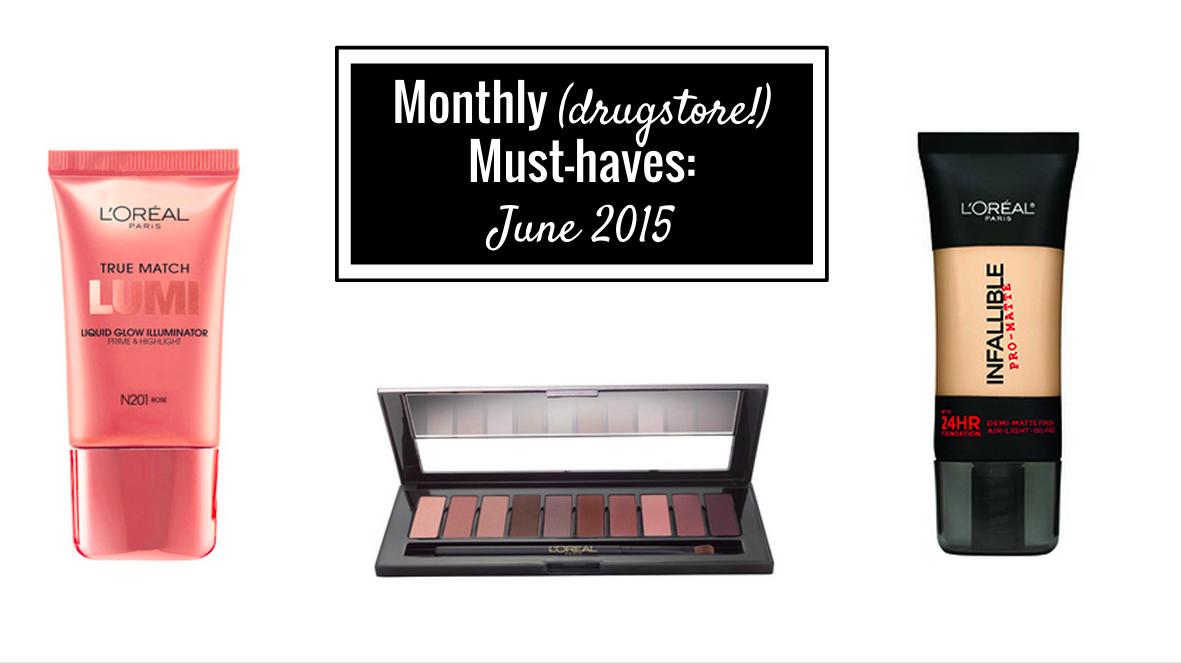 Drugstore makeup must haves